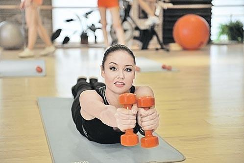 Ляйсан утяшева упражнения для похудения живота